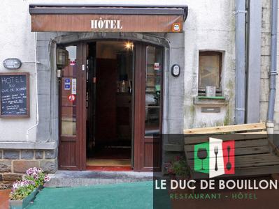 Le Duc de Bouillon - L'hôtel