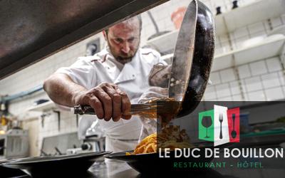 Le Duc de Bouillon - Quelques assiettes et pizzas